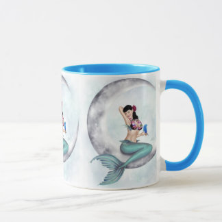 Miss Mandolin Moon Mermaid Mug