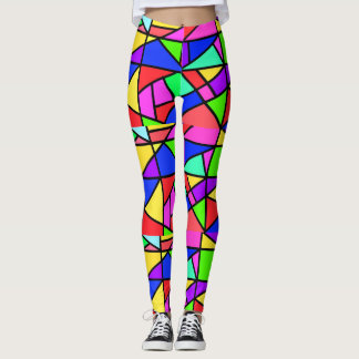Miss Match Fun Leggings