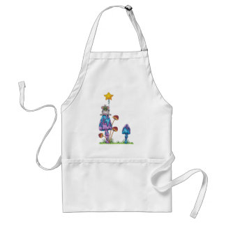 Miss Mouse -coloured Standard Apron