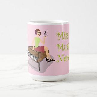 Miss Music Nerd Mug