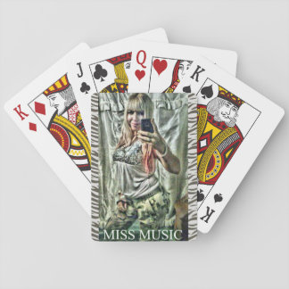 MISS MUSIC- RANDOM PLAYING CARDS