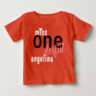 Miss Onederful Shirt