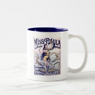 Miss Paula Circus Poster Print Art Mug