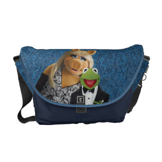 Miss Piggy and Kermit Messenger Bags