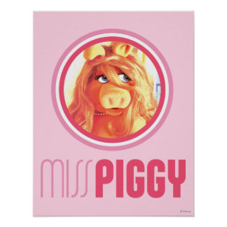 Miss Piggy Model Poster