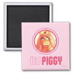 Miss Piggy Model Square Magnet