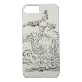 Miss Puvigne as The Living Statue, in Pigmalion, a iPhone 7 Case