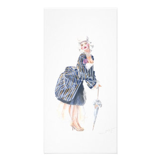 Miss Ro co co Picture Card