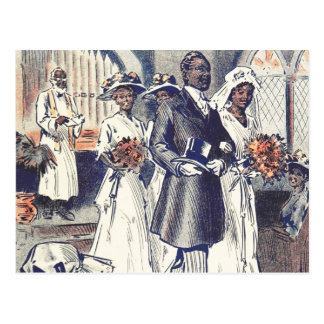 Miss Samantha Johnson's Wedding Postcard