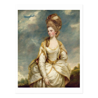 Miss Sarah Campbell, 1777-78 (oil on canvas) Postcard