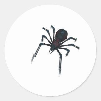 Miss Spider Classic Round Sticker