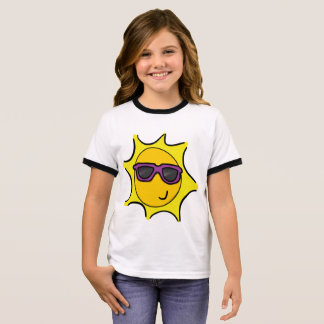 Miss Summer Sun Ringer T-Shirt