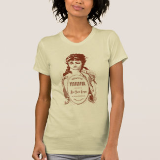 Miss Sweet Temperment Victorian Design T-shirt