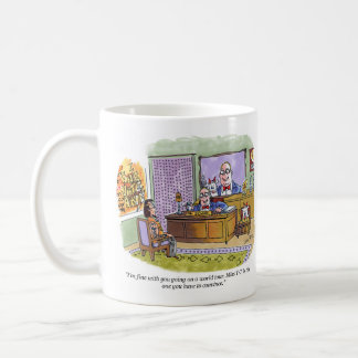 Miss T-T right hand cartoon mug