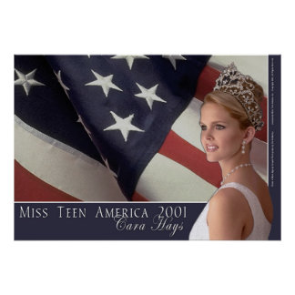 Miss Teen America 2001 Poster