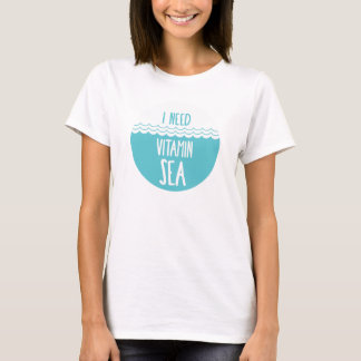 miss the sea? T-Shirt