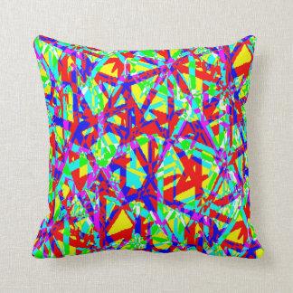 Miss Tile Throw Pillows