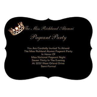 Miss USA America Gold Crown Invitation IV
