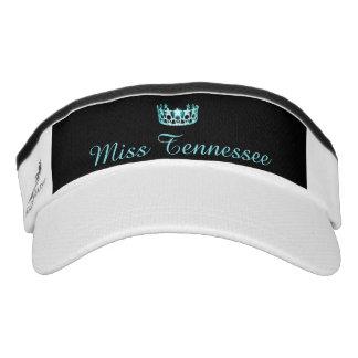 Miss USA Aqua Crown Visor  Hat