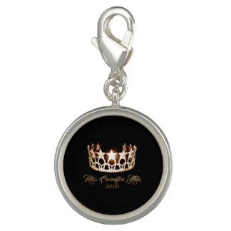 Miss USA Gold Crown SP Charm-Custom Name Photo Charm