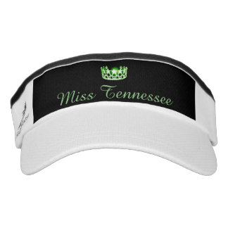 Miss USA Green Crown Visor  Hat