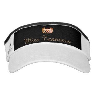 Miss USA Orange Crown Visor  Hat