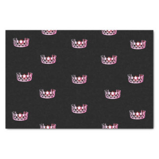 Miss USA Pink Crown Tissue Paper