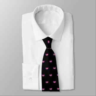 Miss USA Pink Star Crown Men's Tie