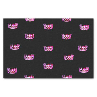 Miss USA Raspberry Pink Crown Tissue Paper