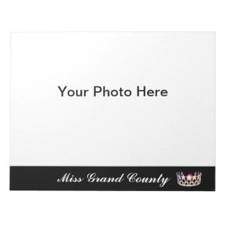 Miss USA Silver Crown Autograph Pad
