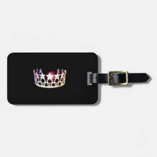 Miss USA Silver Crown Luggage Tag