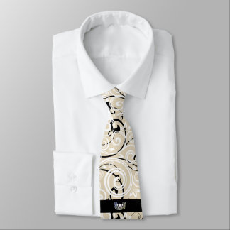 Miss USA Silver Crown Men's Flourish Tie