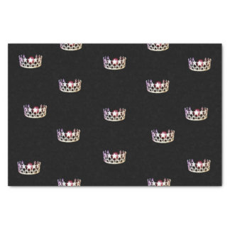 Miss USA Silver Crown Tissue Paper