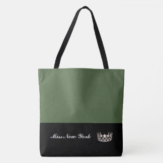 Miss USA Silver Crown Tote Bag-Large Cactus