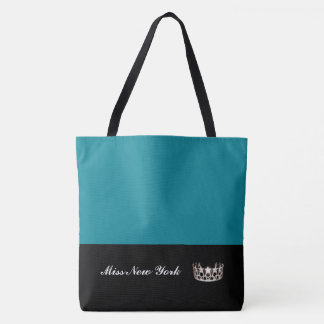 Miss USA Silver Crown Tote Bag-Large Pacific