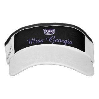 Miss USA Silver Crown Visor  Hat