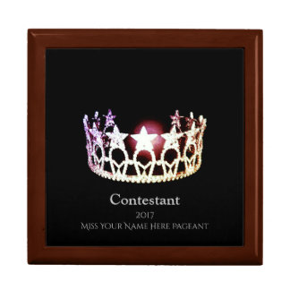 Miss USA SLVR Crown Contestant Jewerly Box