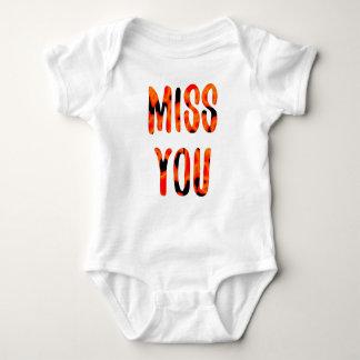 Miss you baby bodysuit