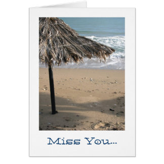 Miss You... Card