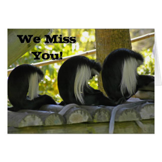 Miss You From Group Greeting Card