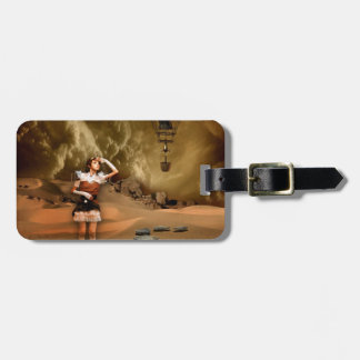 MISSED CONNECTION TO THE FUTURE.jpg Luggage Tag