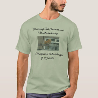 Missing Cat T-Shirt