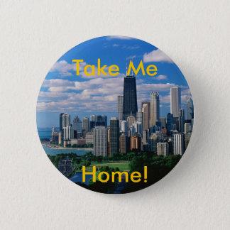 Missing Chicago 2 Inch Round Button