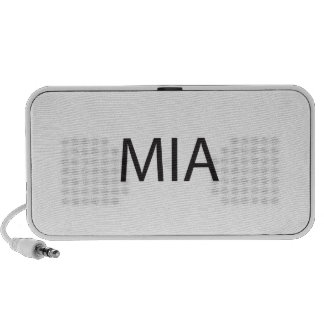 Missing In Action ai iPod Speakers