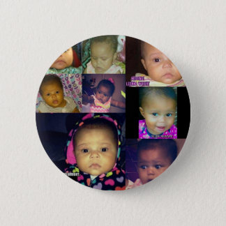 Missing Leonna Wright 2 Inch Round Button