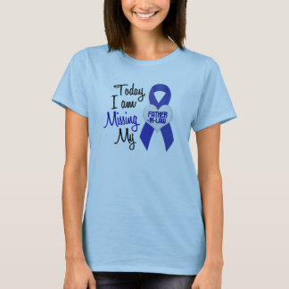 Missing My Father-In-Law 1 (Blue Ribbon) T-Shirt
