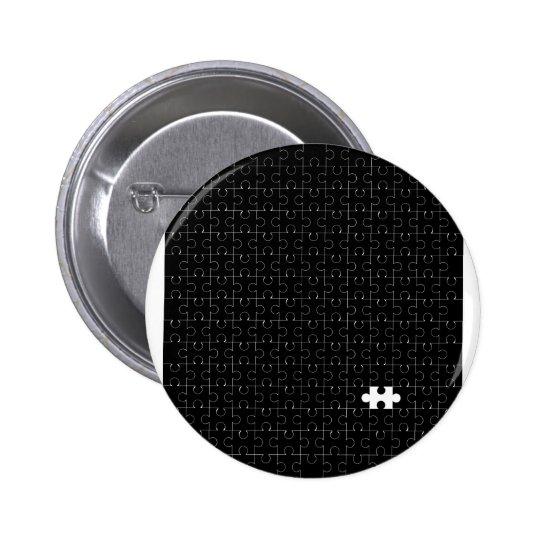 Missing Piece 2 Inch Round Button