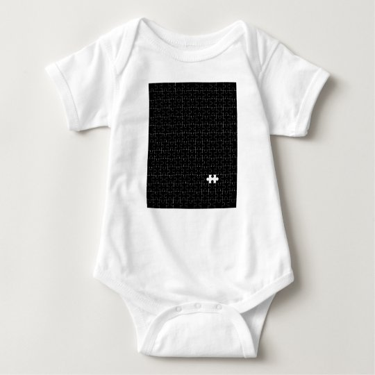 Missing Piece Baby Bodysuit