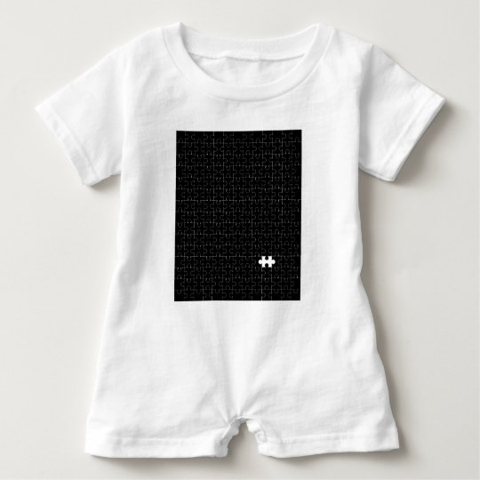 Missing Piece Baby Romper