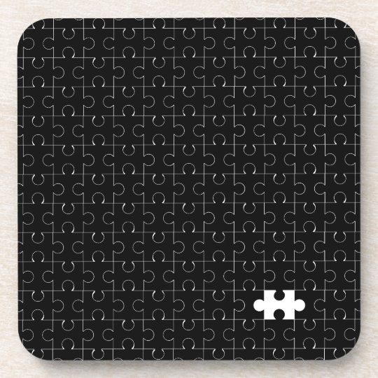 Missing Piece Beverage Coasters